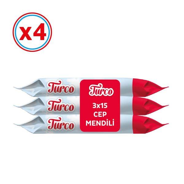 Baby Turco Cep Mendili 12X15 (180 Yaprak)