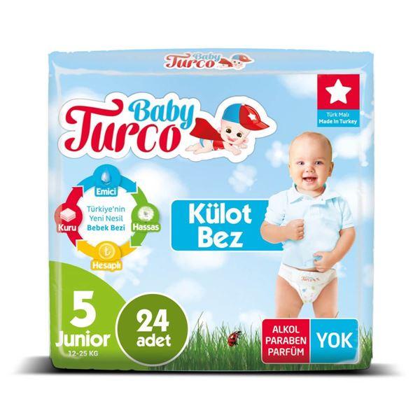 Baby Turco Külot Bez 5 Numara Junıor 24 Adet