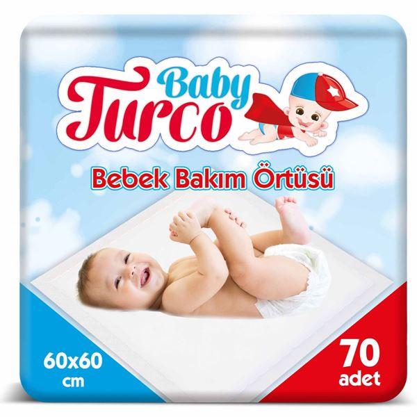BABY TURCO BEBEK BAKIM ÖRTÜSÜ 70 ADET