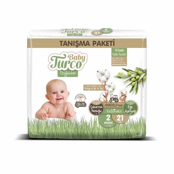 Baby Turco Doğadan 2 Numara Mini Tanışma Paketi 21 Adet