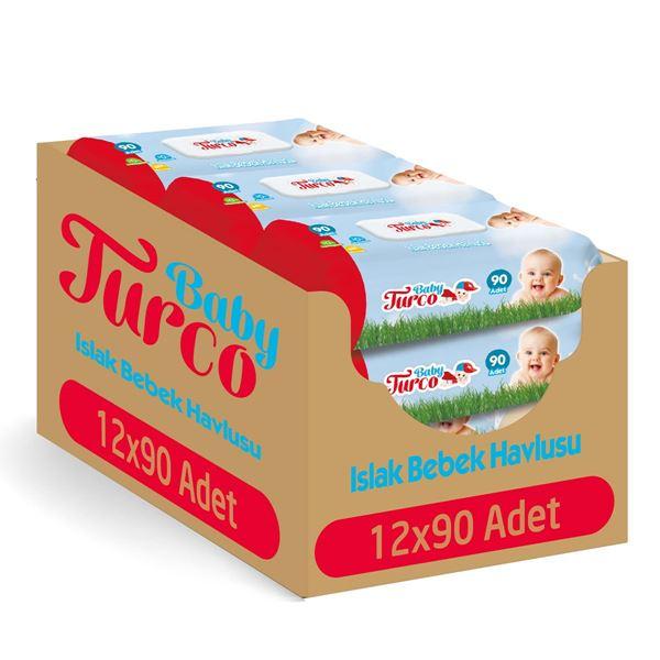 Baby Turco Islak Havlu 12x90'lı
